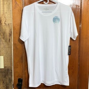 Galaxy by Harvic White Wicking Athletic T-Shirt L